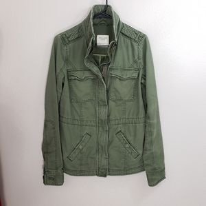NWT Abercrombie & Fitch Military Utility Jacket